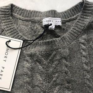 emory park Dresses - NWT Grey Knit Set
